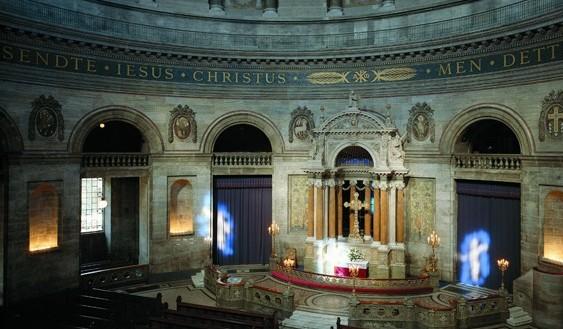 Dåb, konfirmation, bryllup i Marmorkirken