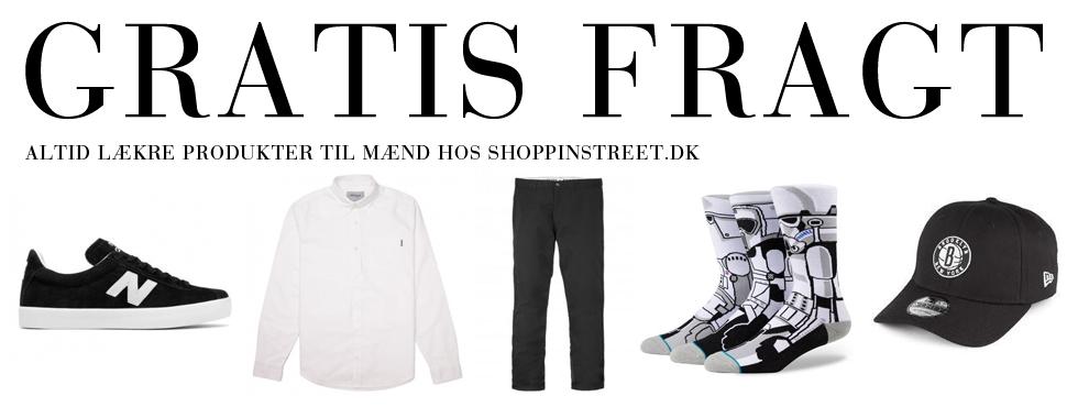 Herre modetøj tilbud- ShoppinStreet.dk - Store Kongensgade shopping